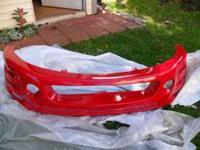 brand new bumper i paid 250$ my car was total damged so