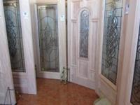 ALL UNFINISHED DECORATIVE MAHOGANY WOOD DOORS ON SALE!!