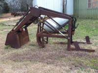Front End Loader For 1955-64 Ford Tractor Has pump,