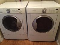 $350 for Fridgidaire Front load washer and clothes