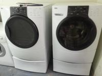 For sale washer and gas dryer very nice good condition