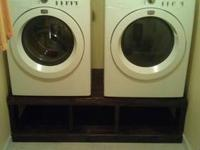 "Fridgedare Brand front load washer & dryer. ""WORKS"