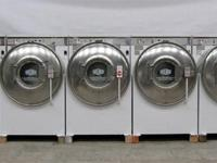 Front Lots Washer Milnor 1PH Computerized. Specs: