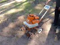 Montgomery Wards Garden Tiller 3.5hp Briggs and