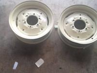-2 Tractor rims in perfect condition that are meant for