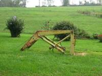 Came off a John Deere 2010-good shape-has no bucket-all