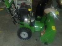 Snow Blower for sale. Like New, used very little. In