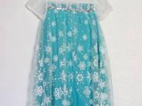 Frozen Queen Elsa style dress, gorgeous! Size 120,