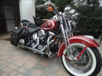 1999 Harley Davidson softail heritage springer FLSTS.