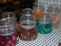 Assorted Fruit Scented Gel Candles. Approx 10 Large &