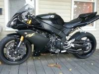 for sale is my 2008 Black Yamaha R1 - Asking 7500 - She