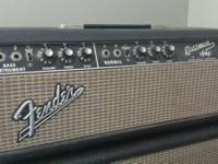 I've got an all-original 1967 Fender Bassman Head and