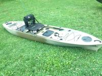 I have two FS128T Sit-On Kayaks for sale. They are