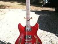 Beautiful Ibanez AS73 Semi hollow body electric. Mint