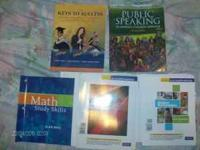 HI, I HAVE FOUR BOOKS FOR SALE. MAINLY FOR COLLEGE