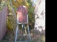 I have a fuel barrel on stand, great condition but not