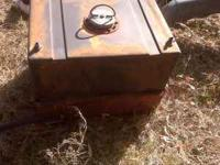 32 gallon plastic fuel cell  Location: musk