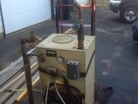 I'm selling a Weil-Mclain fuel oil boiler because I