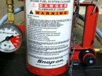 SnapOn fuel system cleaner model #MT338B, used.  In