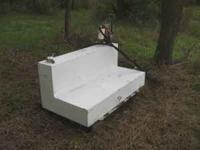 """L"" SHAPE 110 GAL FUEL TANK FOR PICKUP TRUCK. COMES"