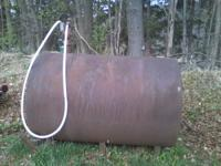 this is a 500 gallion fuel tank it is very thick steel