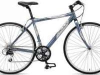 """Fuji Hybrid bike! Men's/19"""" frame. The bike is in very"""