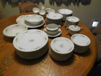 FUJI China 8 person set. $139 obo New in Box LENOX