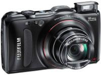 Fuji FinePix F550EXR Digital Camera - Black Li-ion