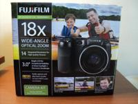 Brand new, never used Fuji FinePix S2980 camera kit.