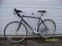 This bike was ridden one time on the road and has been