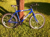 I am selling my Fuji Odessa mountain bicycle. I do not