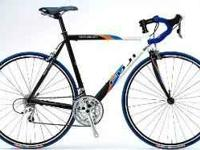I've got a Fuji Roubaix for sale: It is 56 cm, and has