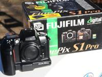 I got a Fuji S-1 finepix Body with new circuit card to