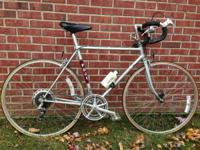 Fuji supreme mens road bike in nice condition.  Shifts,