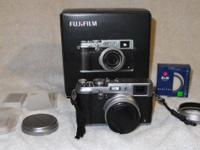 Fuji X100S like brand-new condition. I have the