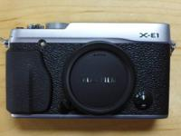 Fuji XE-1 Digital Camera Like new condition in box with