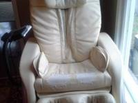 We are selling this Fujikura 2000 massage chair. going