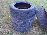 I have 4 Fulda Assuro Carat tires for sale. 2 are 205