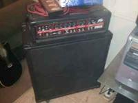 I have a Peavey firebass 700 watt bass head, A Yamaha