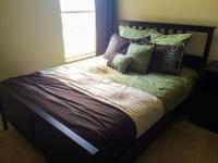 Full bedroom set including queen size bed with