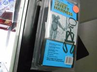 WE HAVE FOR SALE A FULL BODY SAFETY HARNESS  IT IS USED