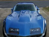 THE SHARK is a highly-customized 1976 Corvette Stingray