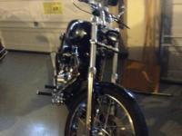 custom harley built in 2007 only ridden short