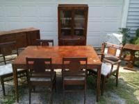 I have a complete dining room set for sale. It comes