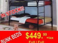 FULL/FULL BUNK BED$$$$$$$$$$ MATTRESS INCLUDED IN