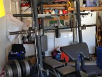 Home Gym - Power house elite cable gym with 500 LBS