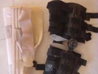 For Sale: Full knee brace with padding also a padded