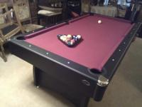Full length professionally made pool table. I have a