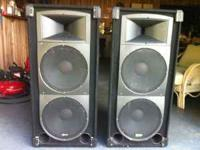 Here is a fully loaded PA system that is ready for use.