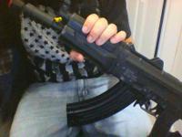 Echo 1 Red Star Full Metal CPM AK74UN AEG Airsoft Gun.
